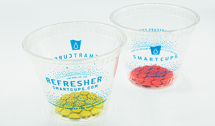 Smart Cups Refresher two cups ingredients only