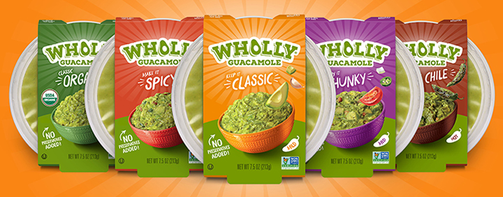 Wholly Guac 5 Flavors