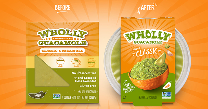 Wholly Guac Before/After