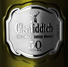 Glenfiddich single malt label