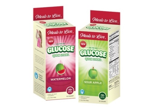 Meals to Live Glucose Quick Sticks package