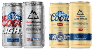 Coors Recyclebank can