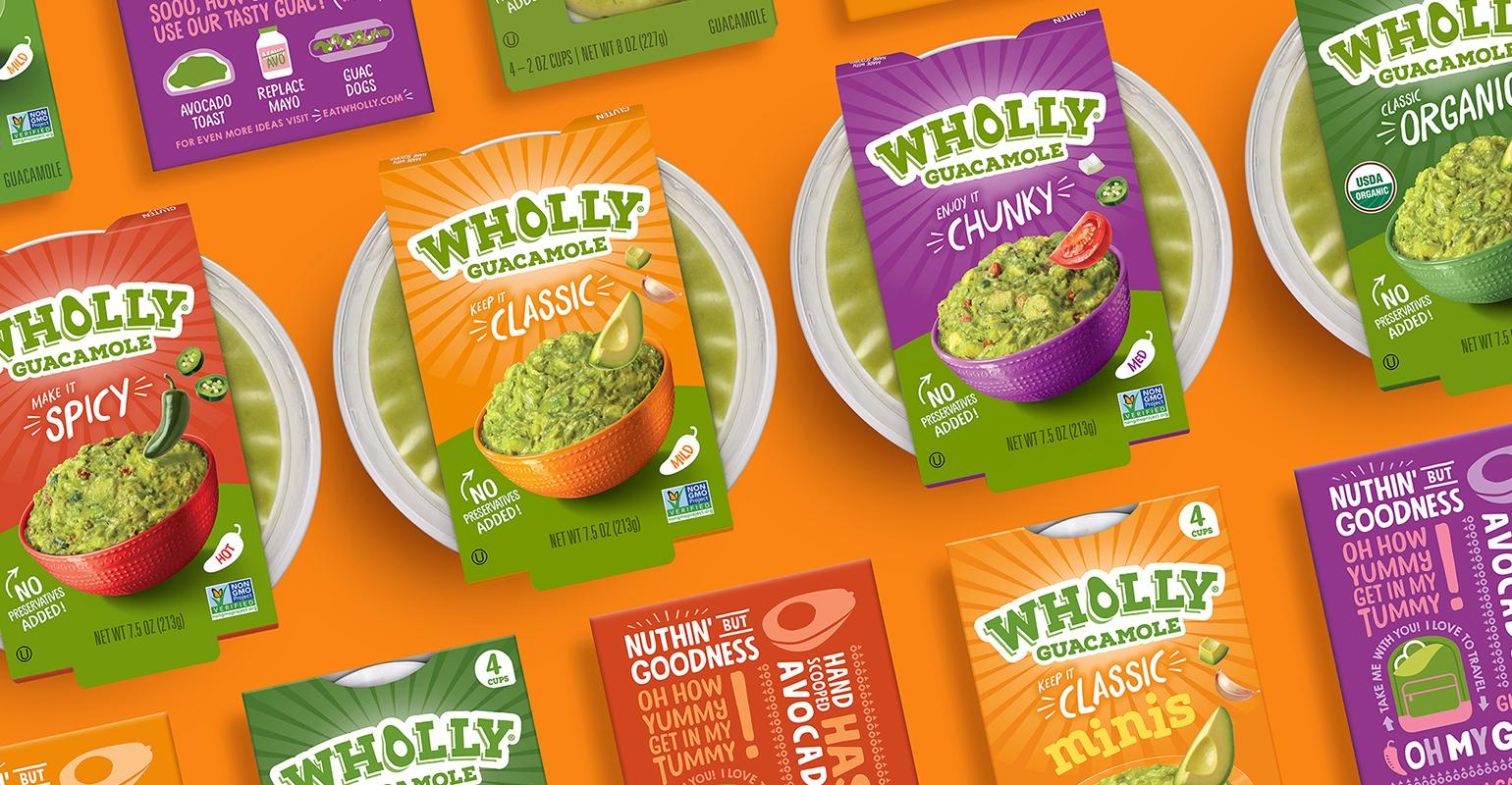 Wholly Guacamole Dips Into Sustainable Packaging Gains Packagingdigest Com