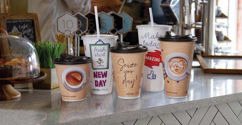Berry Versalite Cups countertop examples