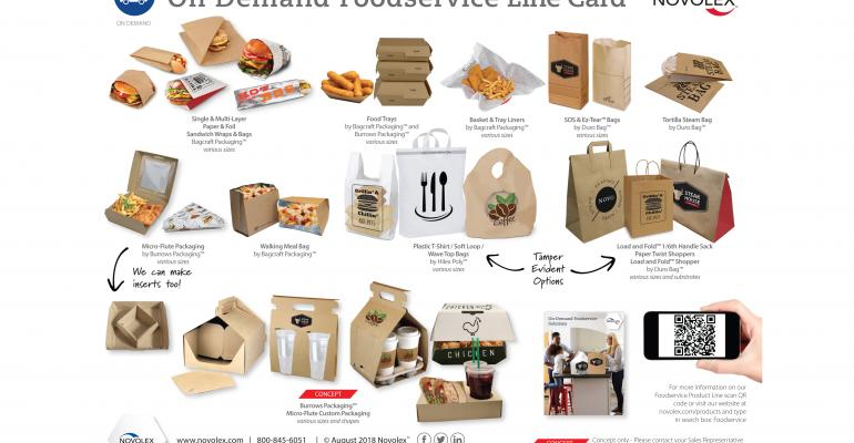 Paper or plastic? 6 sustainable foodservice packaging options for both