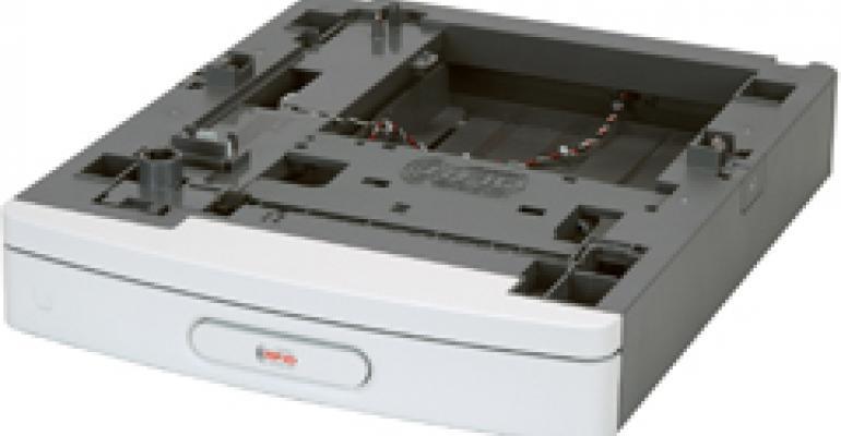 Laser printer upgrade accessory for RFID