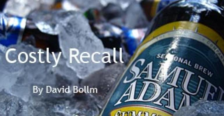 Boston Beer bottle recall costs more than expected