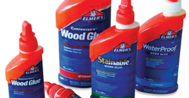 New squeeze bottles, sleeves revamp Elmer's Glue