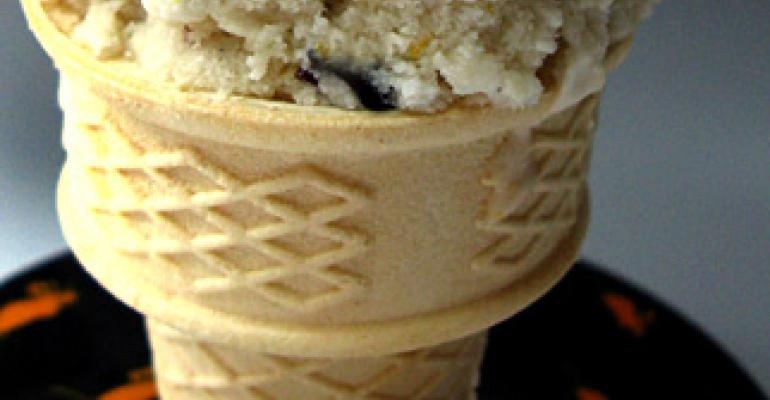 Labeler is a sweet solution forice-creamcone maker