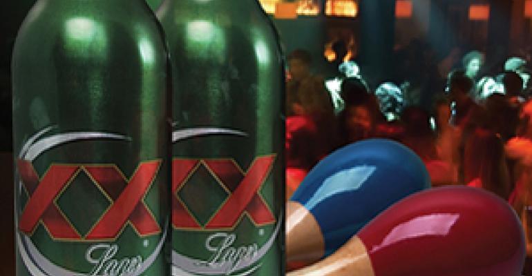 XX marks the spot on Dos Equis' aluminum bottle