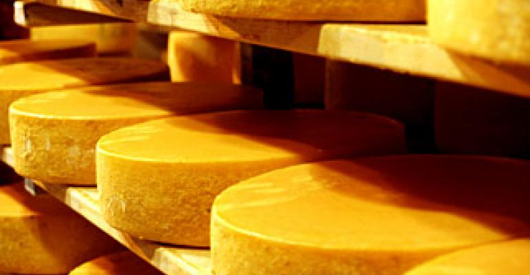 Edible codes for cheese