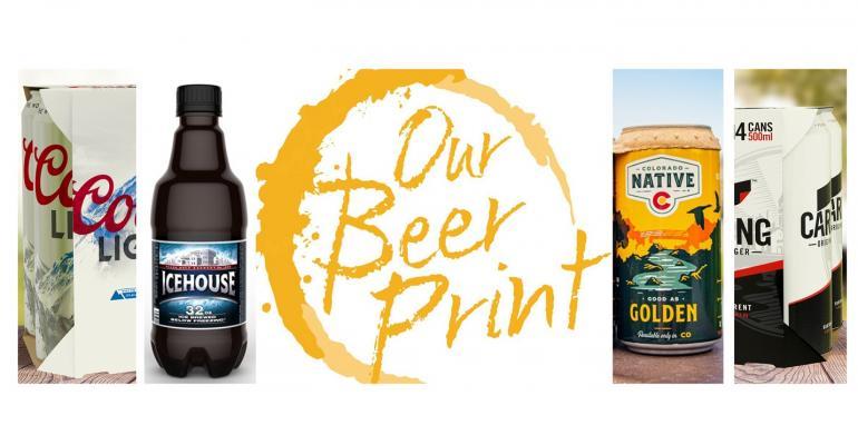 Molson Coors shrinks plastic packaging's Beer Print