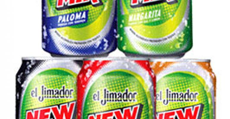 el Jimador introduces tequila cocktails in cans