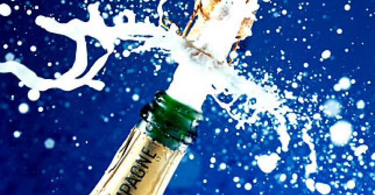 Sparkling finish for French champagne