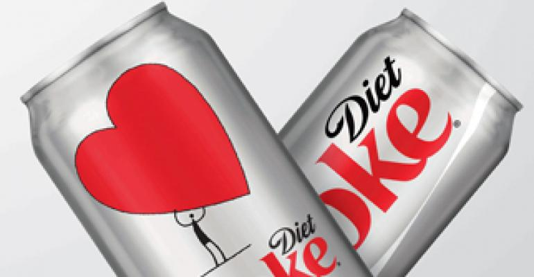 New packaging for Diet Coke aims to inspire heart-health awareness