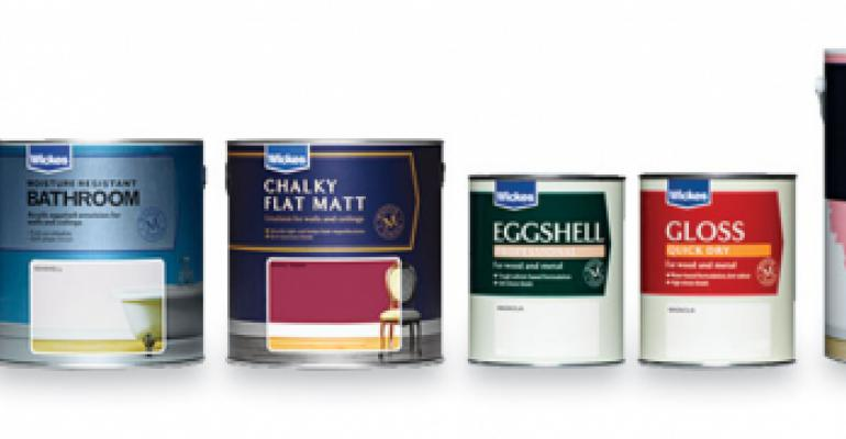 Paint brand strips away dated look