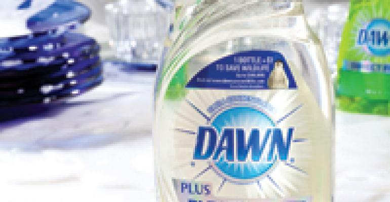 No-label look dawns for dish soap