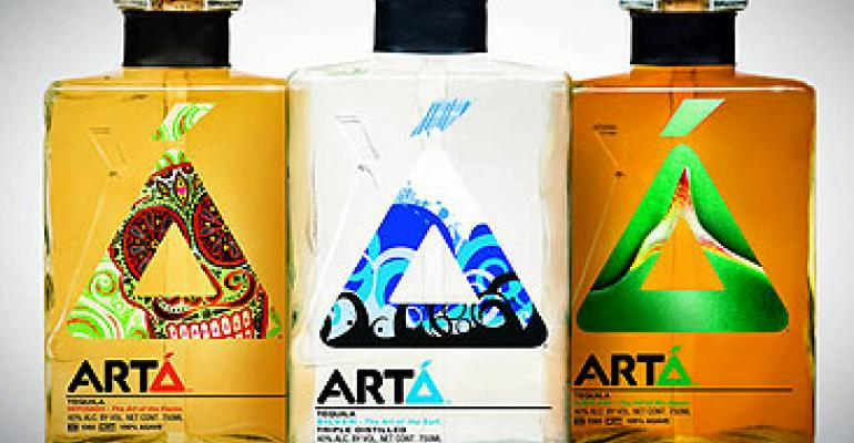 Packaging design: Arta Tequila launches in stylish bottles