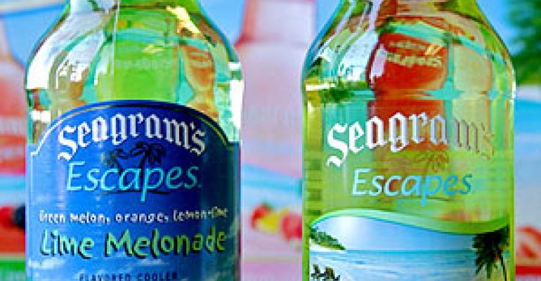 Packaging design: Seagram's Escapes gets redesign
