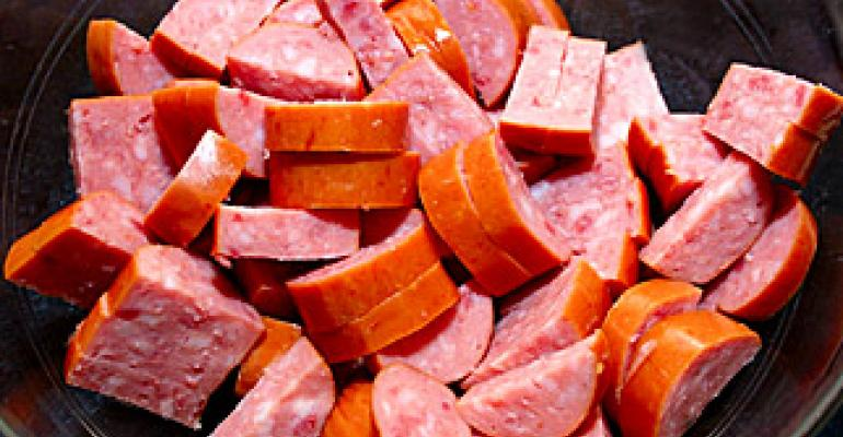 Switch to shrink-film packaging pays big for sausage maker