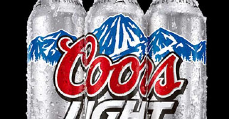 Beverage packaging: Coors Light introduces new aluminum bottles with charity campaign