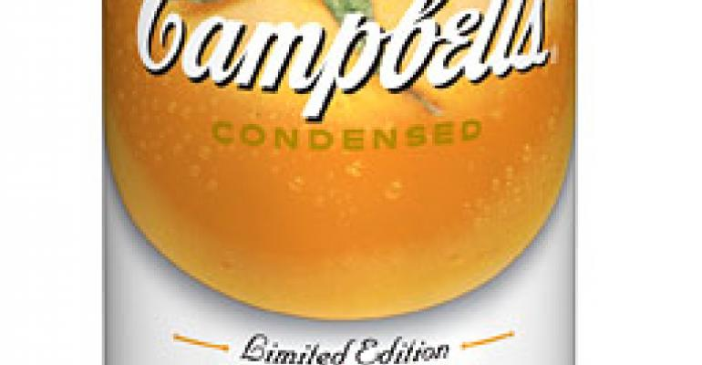 Packaging design: Campbell's iconic soup cans bring new yellow and orange tomato flavors