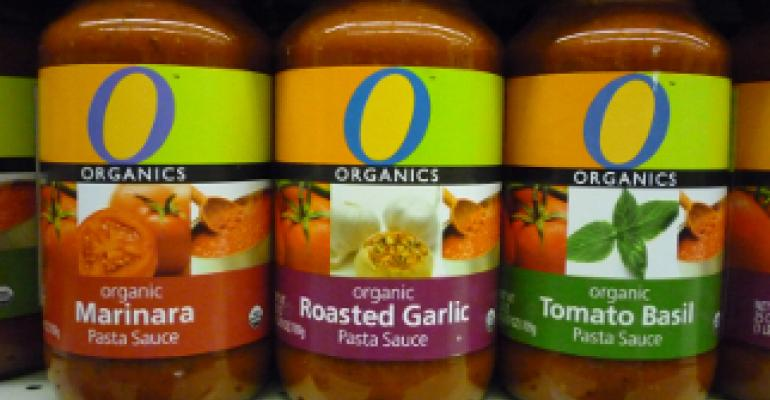 The future of global organic food: Private label?