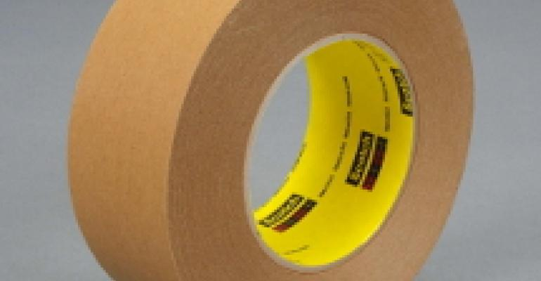 Repulpable case-sealing tape