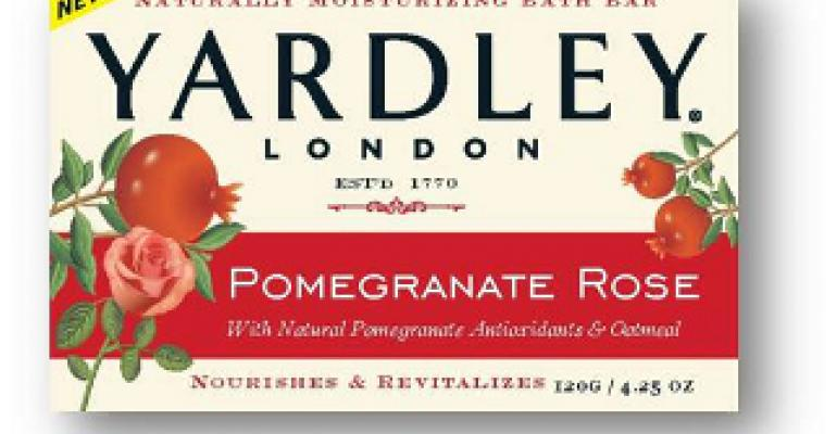 Yardley of London cleans up soap packaging design