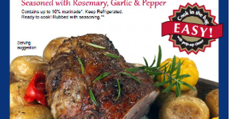 Superior Farms' cook-in-the-bag leg of lamb targets holiday meals