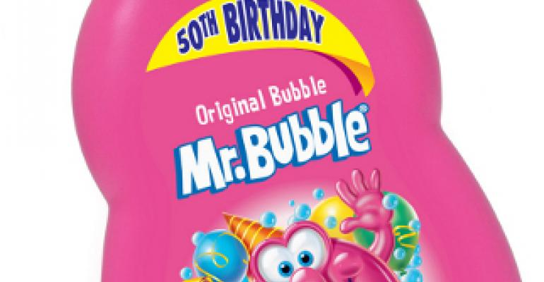Mr. Bubble celebrates 50 years with new look
