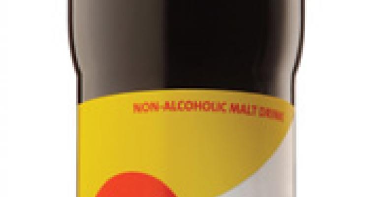 Nonalcoholic malt beverage launches in premium packaging