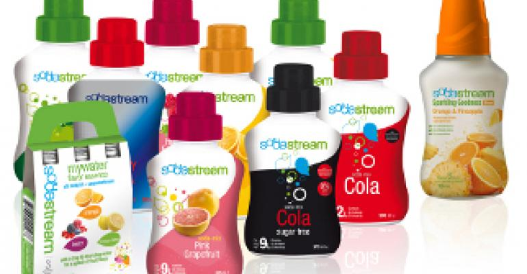 SodaStream uses additive to break down its syrup bottles