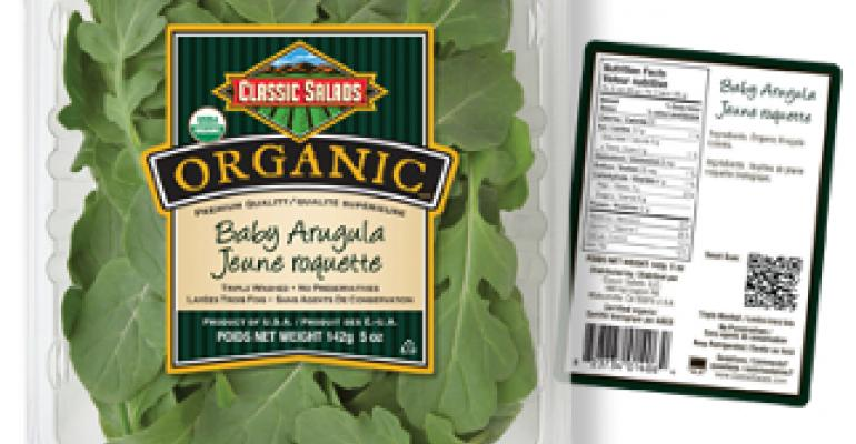 Classic Salads launches new QR program on Canadian packaging