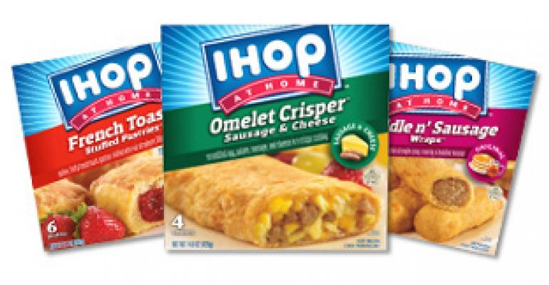 IHOP raises the breakfast bar with new IHOP at Home retail line