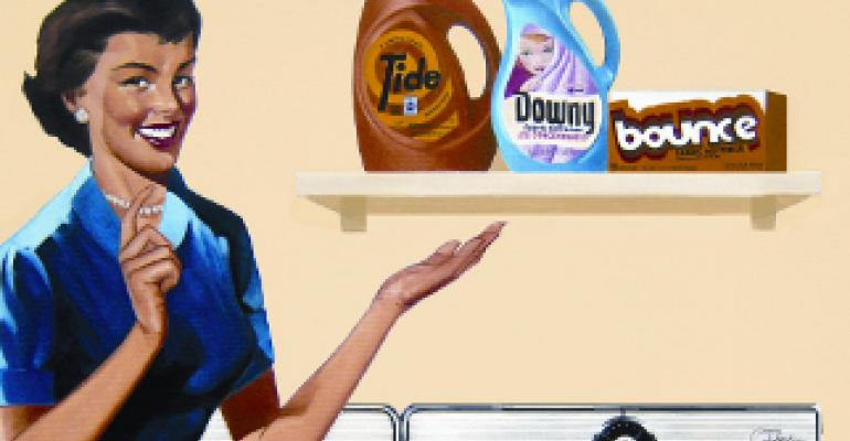 Tide, Bounce,  Downy go retro with vintage packaging
