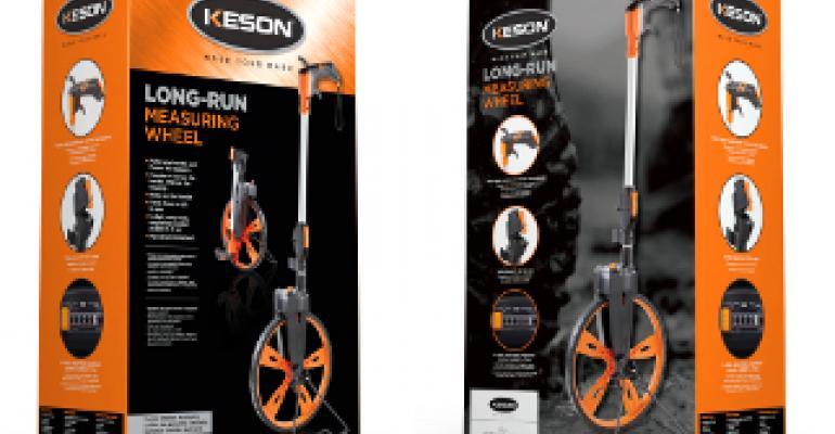Keson wins NRHA's Top Packaging Award for long-run measuring wheel