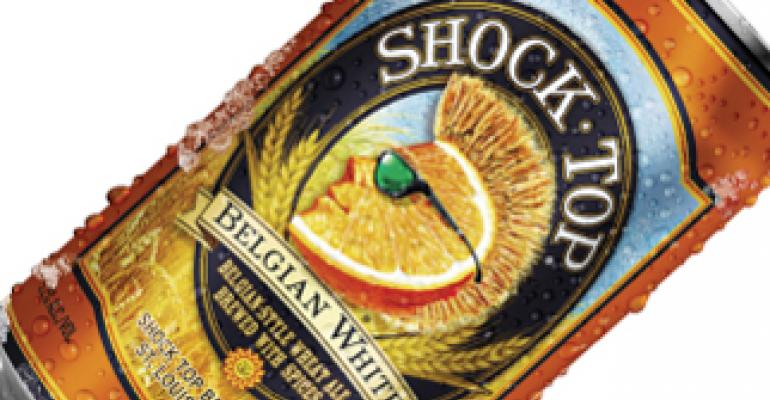 Shock Top beer fans can 'live life unfiltered' with new 12-oz cans