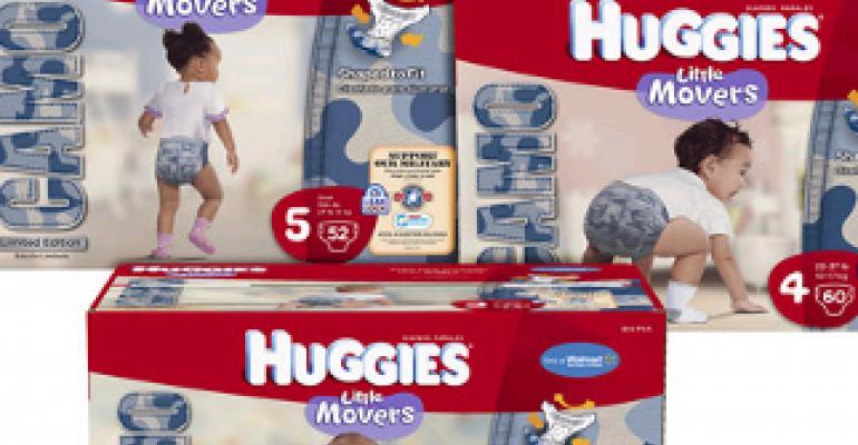 Huggies dresses diapers in camo