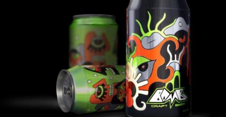 """Rexam supports Bomb Lager launch in """"artistic"""" cans"""
