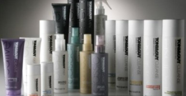 Haircare product line offers packaging with style