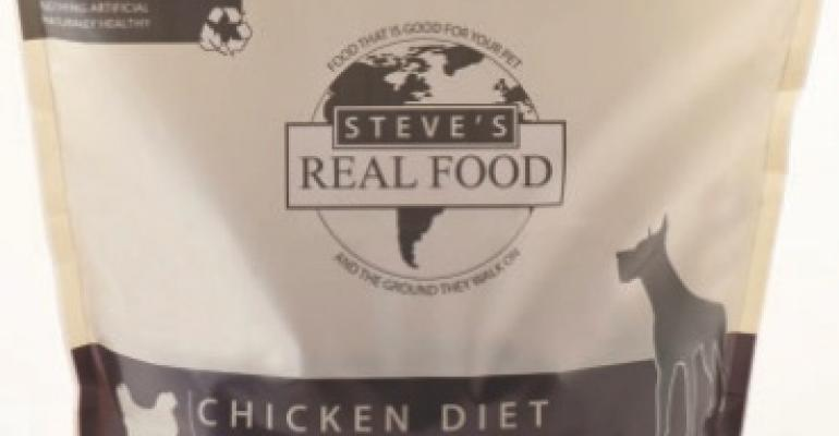 Dog food packaging boasts sustainability pedigree