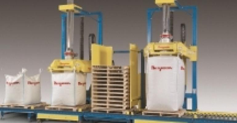 Dual bulk bag filling system