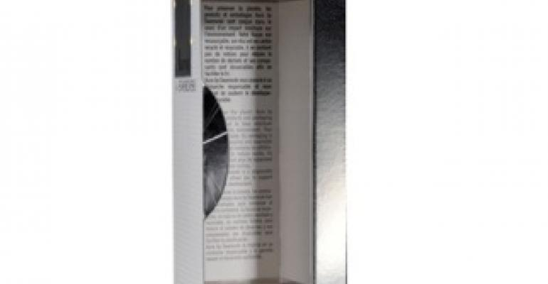 Swarovski perfume packaging nets French award