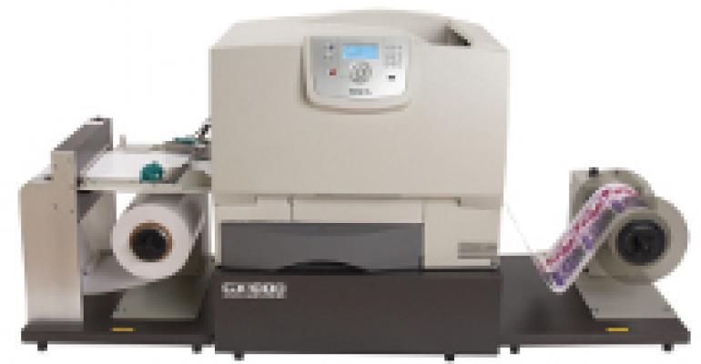 Color label printer
