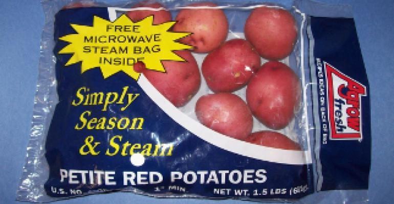 Steam bag lets consumers give potatoes a 'home-made' taste