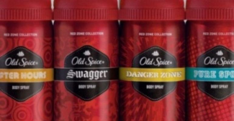 Old Spice debuts Danger Zone body care products