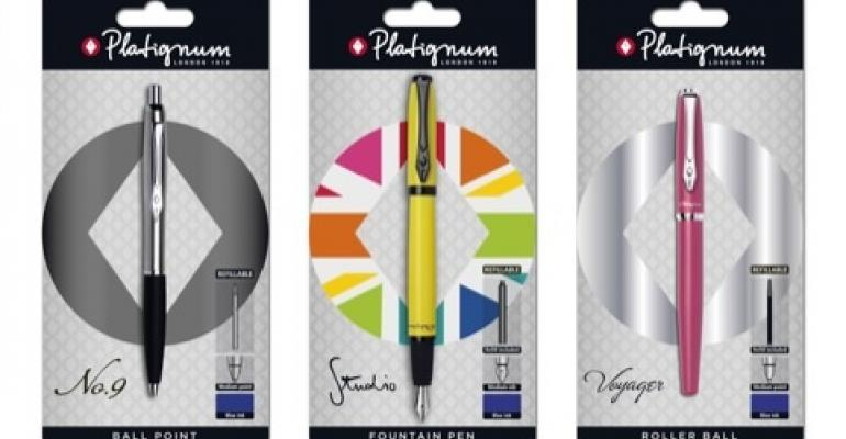 Redesign brightens pen packaging