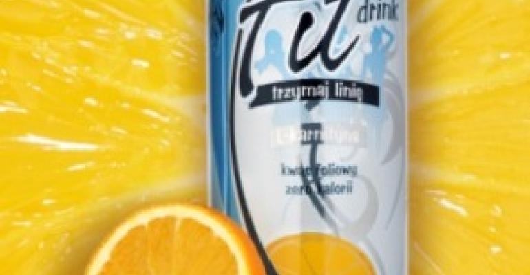 Energy drink pumped up by slim packaging