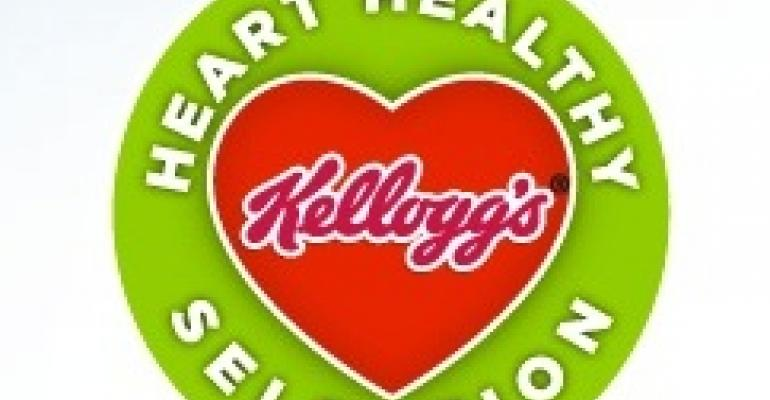 Kellogg's label takes healthy eating to heart